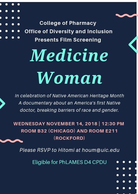 Medicine Women flyer