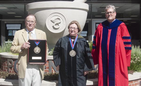 Trio with Award